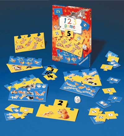 1 2 3 Game by Ravensburger