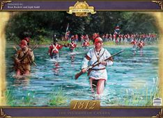 1812 - The Invasion Of Canada by Fred Distribution / Academy Games