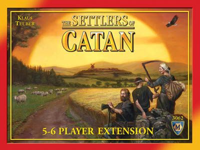 Settlers Of Catan Board Game : 5-6 Player Extension by Mayfair Games