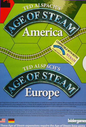 Age of Steam Expansion - America / Europe by Bezier Games