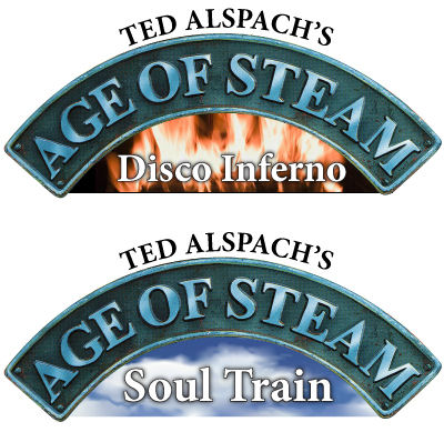 Age of Steam Expansion - Disco Inferno / Soul Train by Bezier Games
