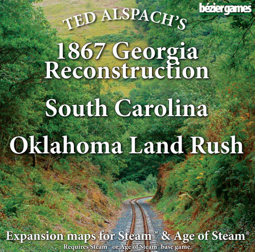 Steam / Age Of Steam: 1867 Georgia Reconstruction, South Carolina  by