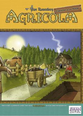 Agricola: Farmers Of The Moor Expansion by Z-Man Games, Inc.