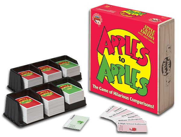 Apples to Apples: Apple Crate Edition by Out of the Box Publishing
