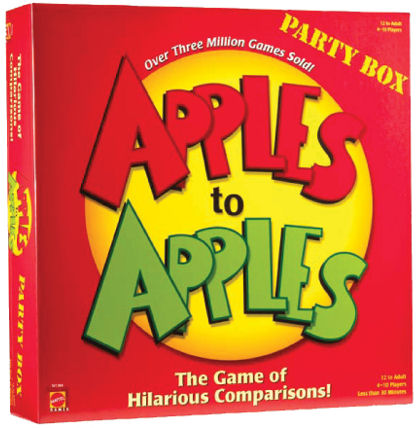 Apples to Apples - Party Box by Mattel