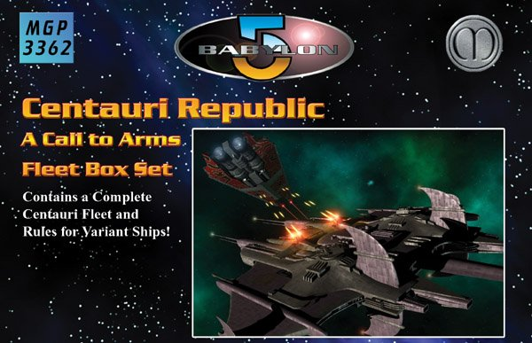 Babylon 5 - Centauri Republic Fleet Box Set by Mongoose Publishing