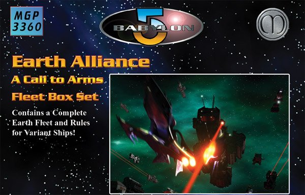 Babylon 5 - Earth Alliance Fleet Box Set by Mongoose Publishing