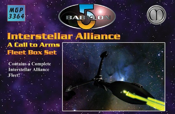 Babylon 5 - Isa Fleet Box Set by Mongoose Publishing