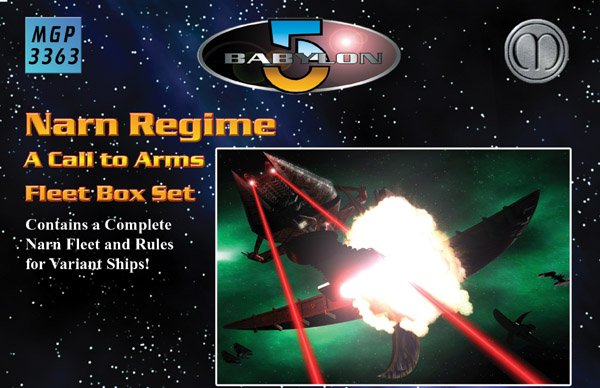 Babylon 5 - Narn Regime Fleet Box Set by Mongoose Publishing