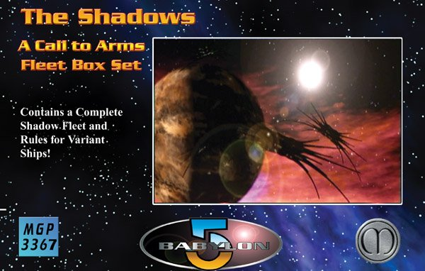 Babylon 5 - A Call To Arms Shadow Fleet Box Set by Mongoose Publishing