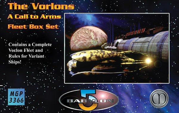 Babylon 5 - A Call To Arms Vorlon Fleet Box Set by Mongoose Publishing