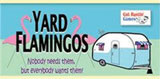 Bag of Yard Flamingos (100) - Trailer Park Wars! by Gut Bustin' Games