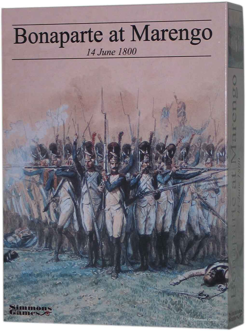 Bonaparte at Marengo by Simmons Games