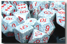 Dice - Speckled: Poly Set - Air (Set of 7) by Chessex Manufacturing