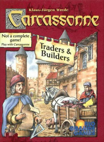Carcassonne: Traders & Builders Expansion by Rio Grande Games