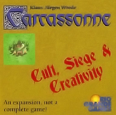 Carcassonne: Cult, Siege,  by