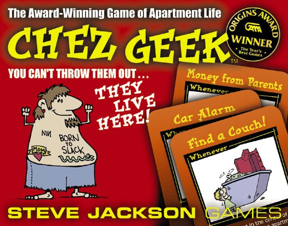 Chez Geek by Steve Jackson Games