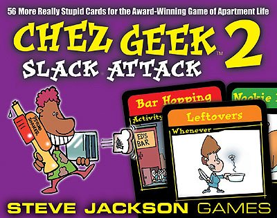 Chez Geek 2 - Slack Attack by Steve Jackson Games