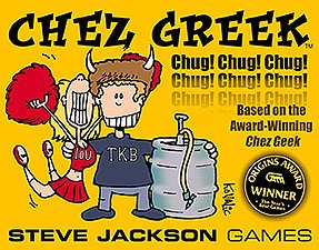 Chez Greek by Steve Jackson Games
