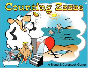 Counting Zzzzs by Blood and Cardstock