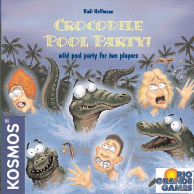 Crocodile Pool Party by Rio Grande Games