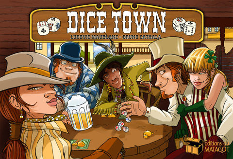 Dice Town by Asmodee Editions