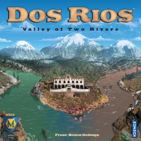 Dos Rios - Valley of Two Rivers by Mayfair Games