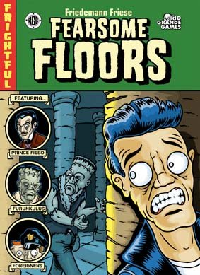 Fearsome Floors (English version of Finstere Flure) by Rio Grande Games