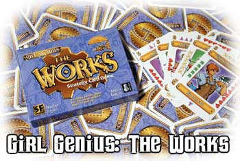 Girl Genius - The Works by Cheapass Games