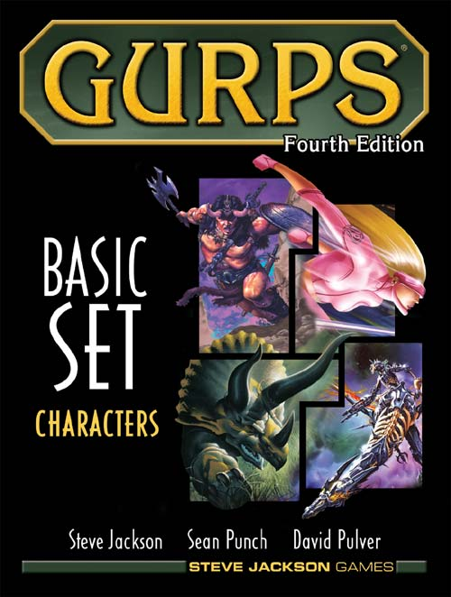 Gurps 4th Edition Basic Set Volume 1 - Characters by Steve Jackson Games