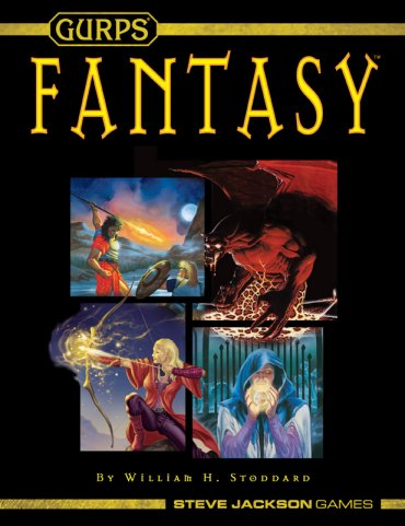 Gurps: Fantasy 4th Edition (Revised) by Steve Jackson Games