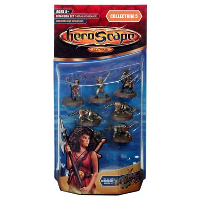 Heroscape Expansion Set - Warriors & Soulborgs (Thora's Vengeance) - Wave 5 by Hasbro