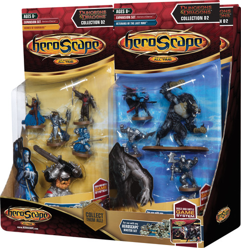 Heroscape Expansion Set Asst Wave 12: Dungeons & Dragons Assortment 2 - Warriors Of Eberron by Wizards of the Coast