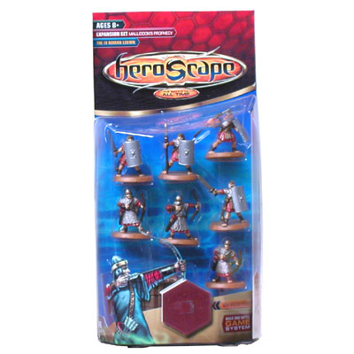 Heroscape Expansion Set - The IX Roman Legion (Malliddon's Prophecy) - Wave 1 by Hasbro