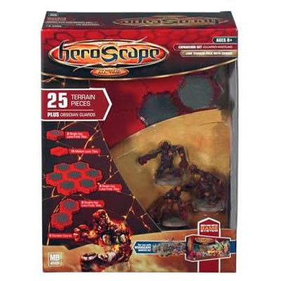 Heroscape - Large Expansion Set - Volcarren Wasteland by Hasbro