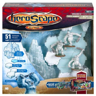Heroscape - Large Terrain Expansion Set - Thaelenk Tundra by Hasbro