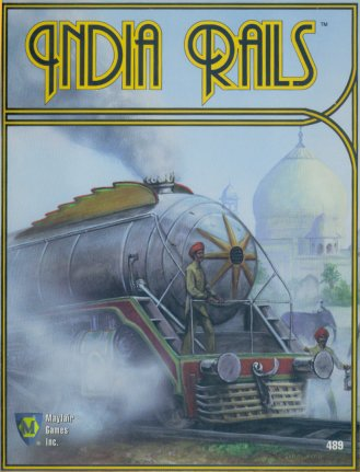 India Rails by Mayfair Games