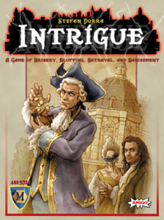 Intrigue (English Edition) Intrige by Mayfair Games