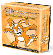 Killer Bunnies-Quest for Magic Carrot-Orange Box Expansion by Playroom Entertainment
