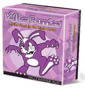 Killer Bunnies-Quest Magic Carrot-Violet Box Expansion by Playroom Entertainment