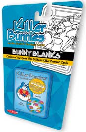 Killer Bunnies Bunny Blanks Set 1 Pack - includes 2 free Psi Series Cards (01 & 02) by Playroom Entertainment