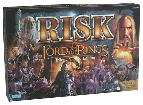Lord of the Rings Risk - Trilogy Edition by Parker Brothers/Hasbro