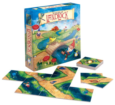 The Legend of Landlock by Gamewright