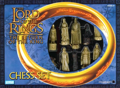 Lord of the Rings - Return of the Kings Chess Set by Hasbro