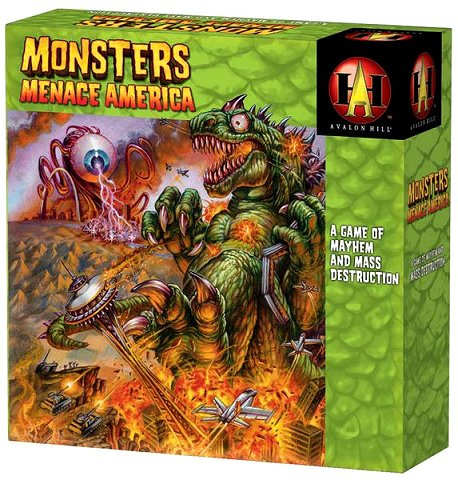 Monsters Menace America by Avalon Hill