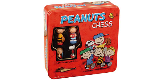 Peanuts Chess Set by USAOpoly