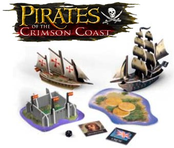 Pirates of the Crimson Coast CSG Pack by WizKids