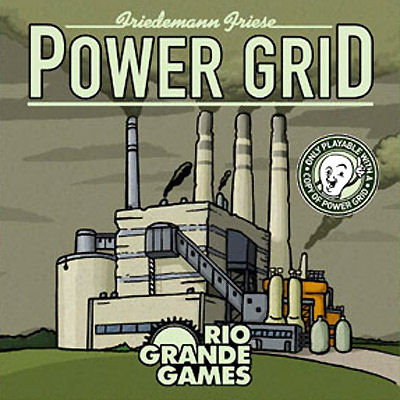 Power Grid Expansion - Power Plant Deck by Rio Grande Games