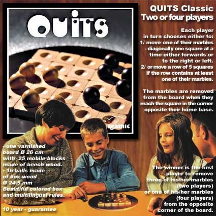 Quits by Gigamic