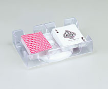 Revolving Card Tray - Clear by Fame (U.S.A.) Products, Inc.